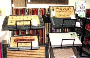 Busy Rug Retail Shop