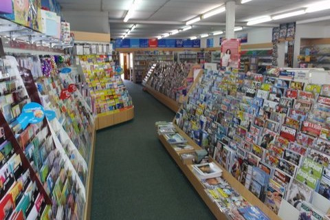 Large selection of magazines