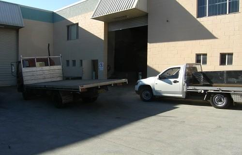 exterior 2 trucks